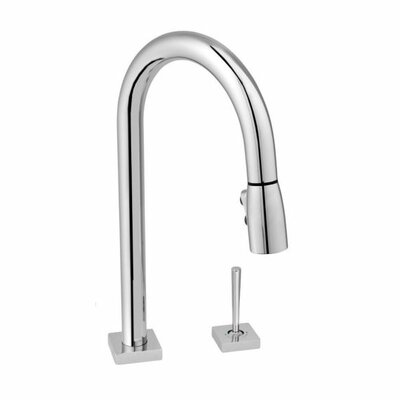 Low Price Jado Cayenne Single Handle Single Hole Widespread Kitchen Faucet  With Pull Down Spray Finish