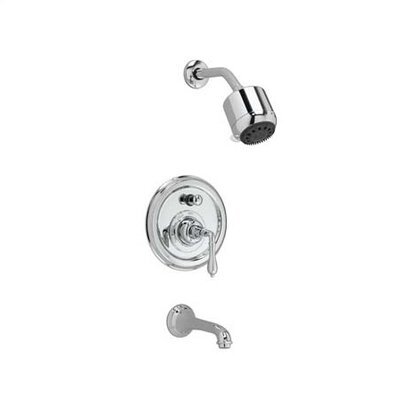 JADO Classic Pressure Balance Thermostatic/Diverter Tub and Shower Faucet - Finish: Brushed Nickel at Sears.com