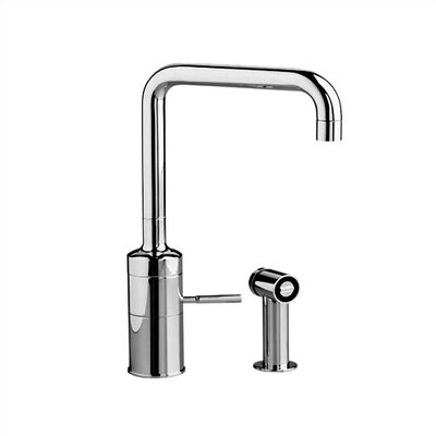 Buy Low Price Jado Iq One Handle Single Hole Kitchen Faucet With Side Spray Finish Ultrasteel