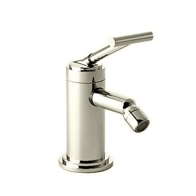 New Haven Single Handle Horizontal Spray Bidet Faucet Finish: Platinum Nickel