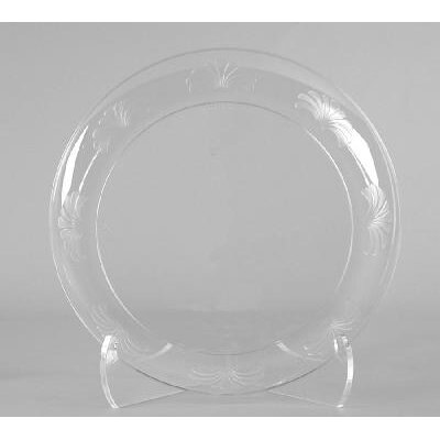"WNA Comet 10.25"" Designerware Plastic Plate in Clear (Set of 144) at Sears.com"