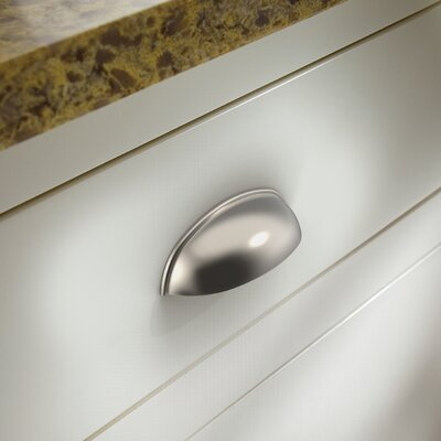 "3"" Center Cup Pull Finish: Satin Nickel P34702-SN-C"