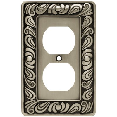 Paisley Single Duplex Wall Plate