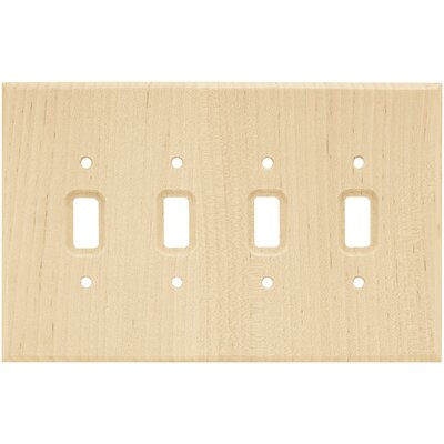 Quad Switch Wall Plate