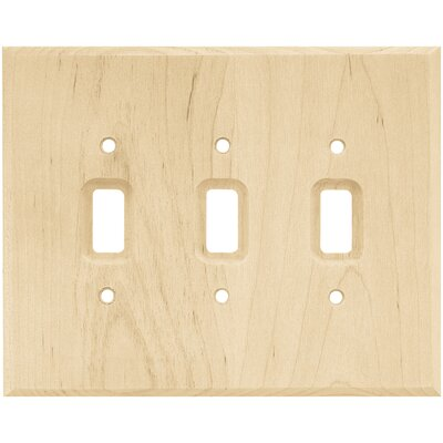Triple Switch Wall Plate