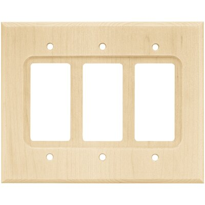 Triple Decorator Wall Plate