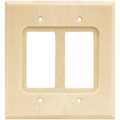 Double Decorator Wall Plate