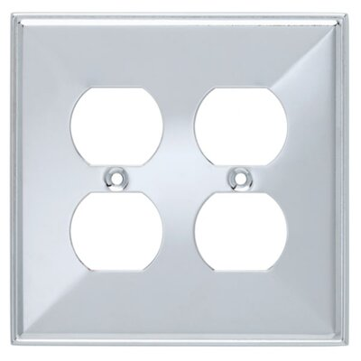 Beverly Double Duplex Socket Plate