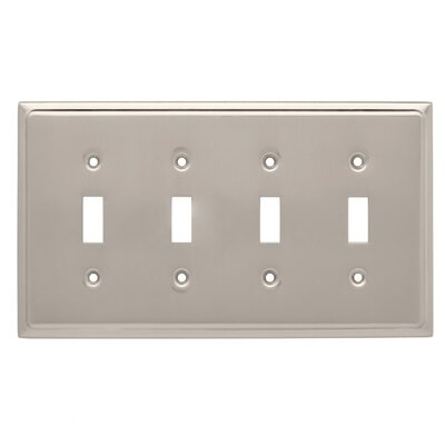 Country Fair Quad Switch Wall Plate