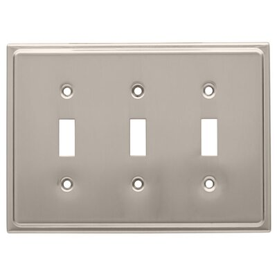 Country Fair Triple Switch Wall Plate