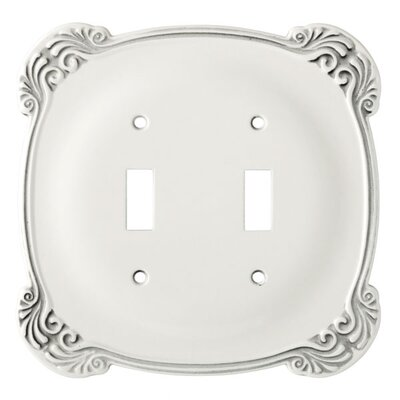 Arboresque Double Switch Wall Plate