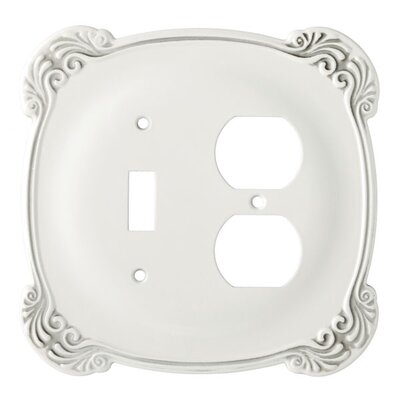Arboresque Single Switch/Duplex Socket Plate