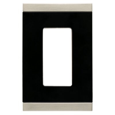 Basic Stripe Single Decorator Wall Plate (Set of 2)
