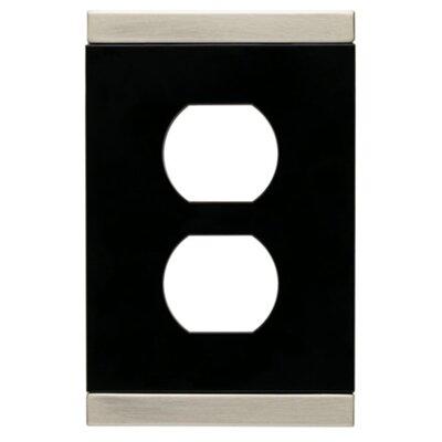 Basic Stripe Single Duplex Wall Plate (Set of 2)