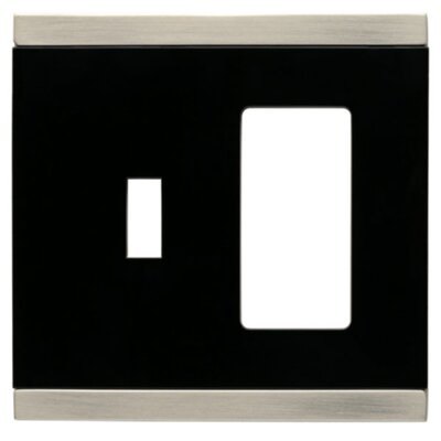 Basic Stripe Single Switch/Decorator Wall Plate