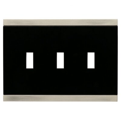 Basic Stripe Triple Switch Wall Plate