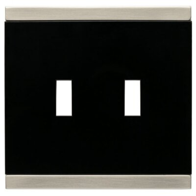 Basic Stripe Double Switch Wall Plate