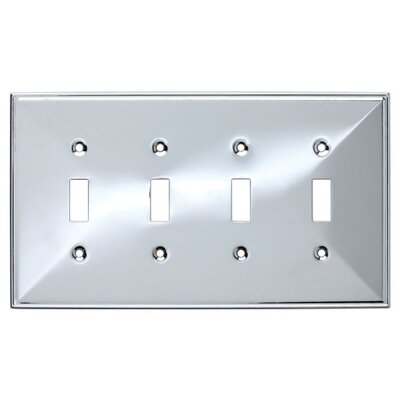 Beverly Quad Switch Wall Plate