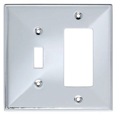 Beverly Single Switch/Decorator Socket Plate