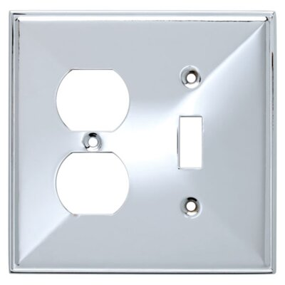 Beverly Single Switch/Duplex Socket Plate