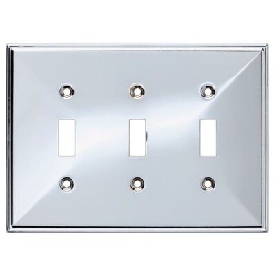 Beverly Triple Switch Wall Plate