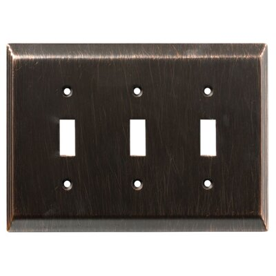 Stately Triple Switch Wall Plate
