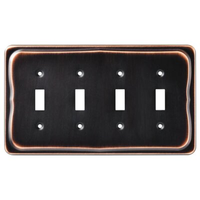 Tenley Quad Switch Wall Plate