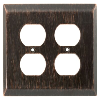 Stately Double Duplex Wall Plate