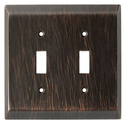 Stately Double Switch Wall Plate