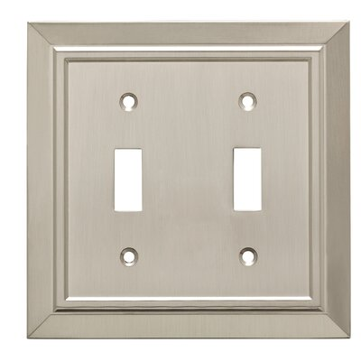 Classic Architecture Double Swtich Wall Plate