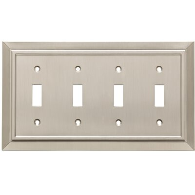 Classic Architecture 4 Switch Wall Plate