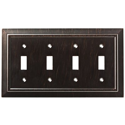 Classic Architecture Quad Switch Wall Plate