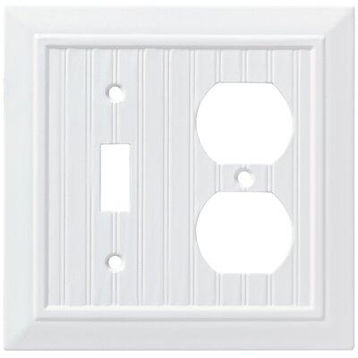 Classic Beadboard Single Switch Gang Duplex Wall Plate
