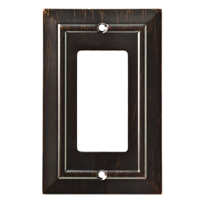 Classic Architecture Single Decorator Wall Plate Finish: Venetian Bronze