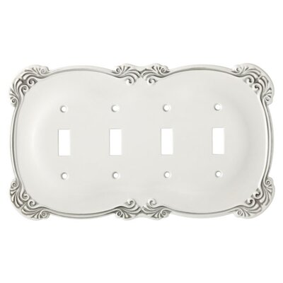 Arboresque Quad Socket Plate