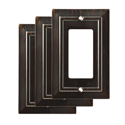 Classic Single Decorator Wall Plate Color: Venetian Bronze
