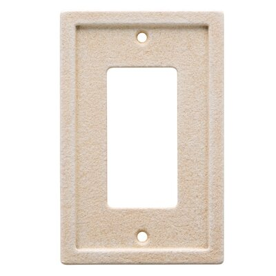 Tile Single Rocker Wall Plate Color: Light Sand