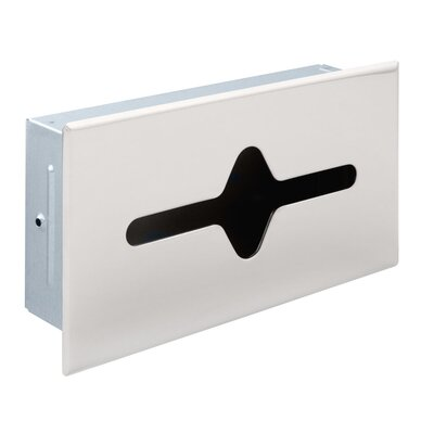 Shallow Recessed Tissue Cabinet