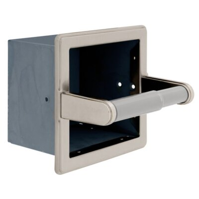 Toilet Paper Holder Finish: Satin Nickel