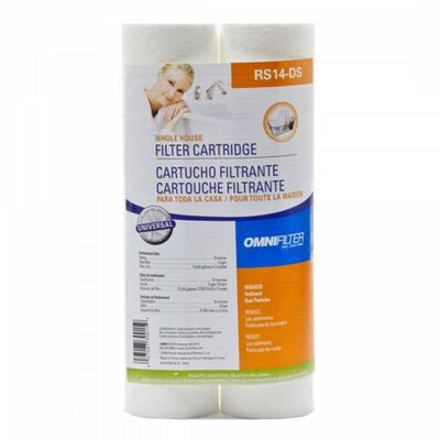 Whole House Water Filter Cartridges (Pack of 2)
