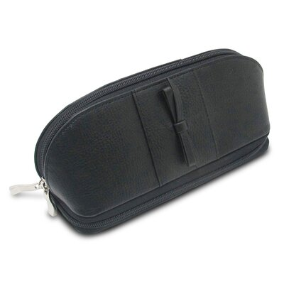 Rachel Cosmetic Jewelry Pouch Color: Black