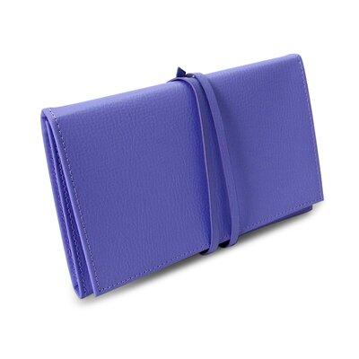 Audrey Envelope Jewelry Pouch Color: Violet Tulip