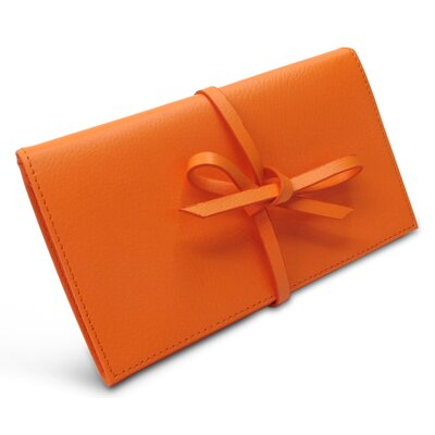 Audrey Envelope Jewelry Pouch Color: Nectarine