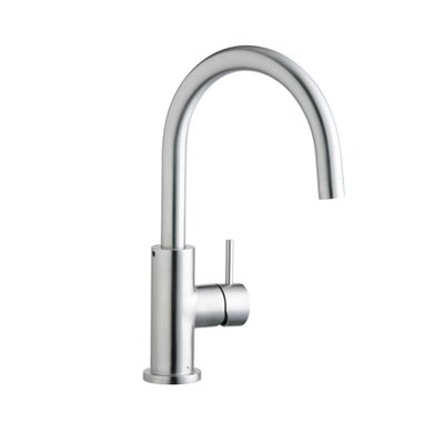 Allure Single Handle Deck Mount Kitchen Faucet Side Spray: Without Side Spray