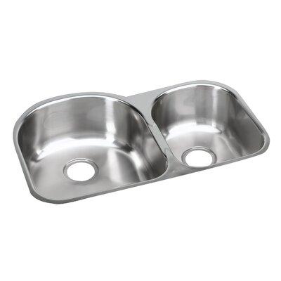 Elumina 31.25 x 20 Double Basin Undermount Kitchen Sink