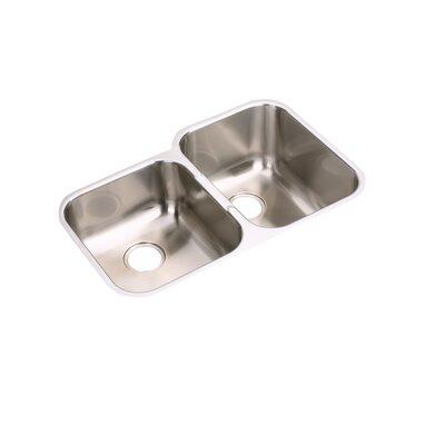 Elumina 31.25 x 20.5 Double Basin Undermount Kitchen Sink