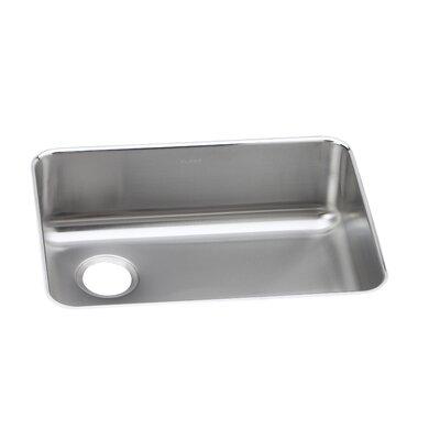 Gourmet 25 x 18.75 Undermount Kitchen Sink Bowl Configuration: Left