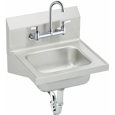 15.5 x 16.75 Single Weldbilt Hand Sink