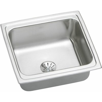 Gourmet 19 x 18 Kitchen Sink with Perfect Drain