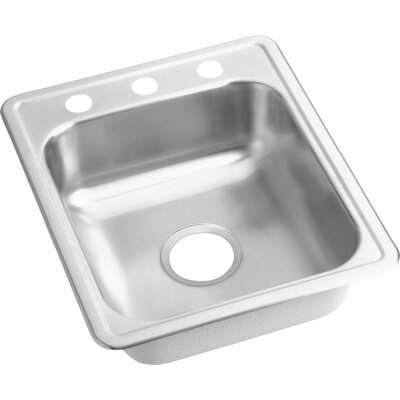 Dayton 17 x 21 Drop-In Bar Sink